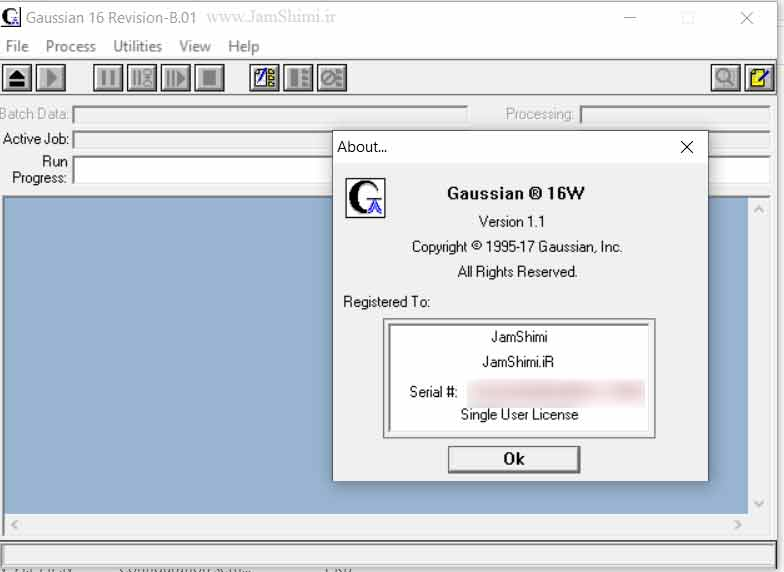 Gaussian 16 C.01 AVX Linux x64 + 16W Rev B.01 Windows x86 نرم افزار گوسین
