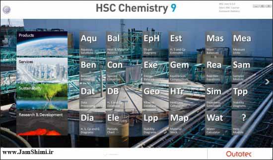 دانلود HSC Chemistry 9.5.1.5 نرم افزار شبیه سازی فرایند و محاسبات مهندسی