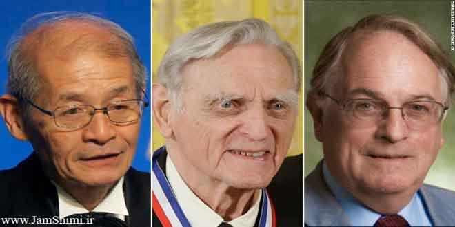 برندگان جایزه نوبل شیمی 2019