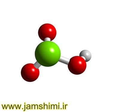 دانلودآنالوگ ساختار اسیدکلریک