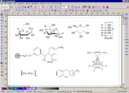 دانلود ACD/ChemSketch 2018.2.1 رسم انواع واکنش ها و ترکیبات شیمی