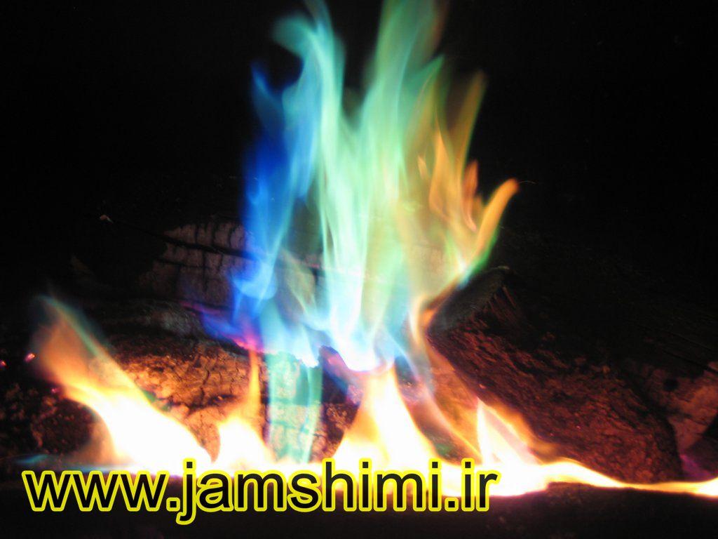 1 آزمایش شعله (Flame Test)