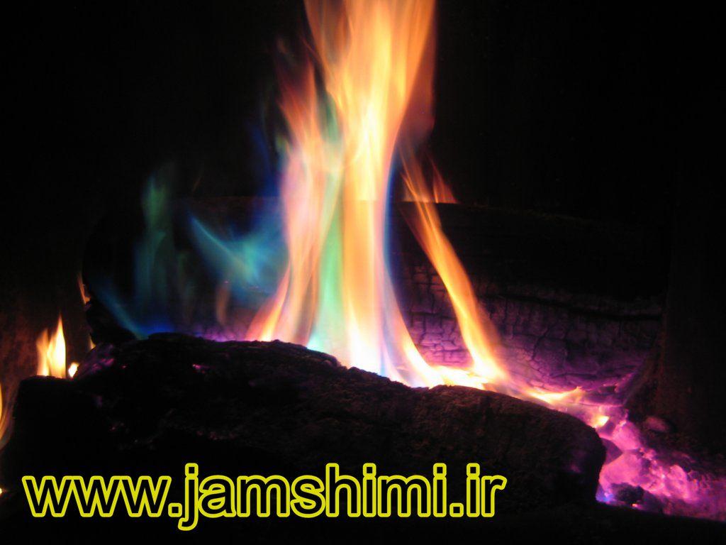 2 آزمایش شعله (Flame Test)