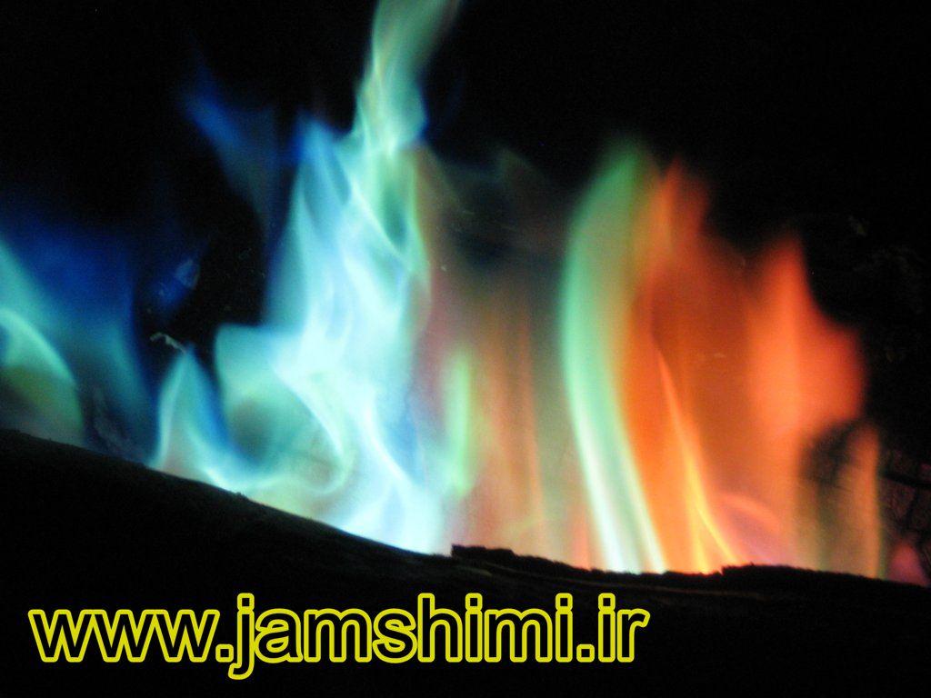 3 آزمایش شعله (Flame Test)