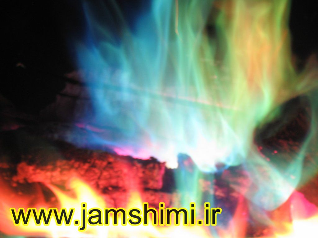 4 آزمایش شعله (Flame Test)