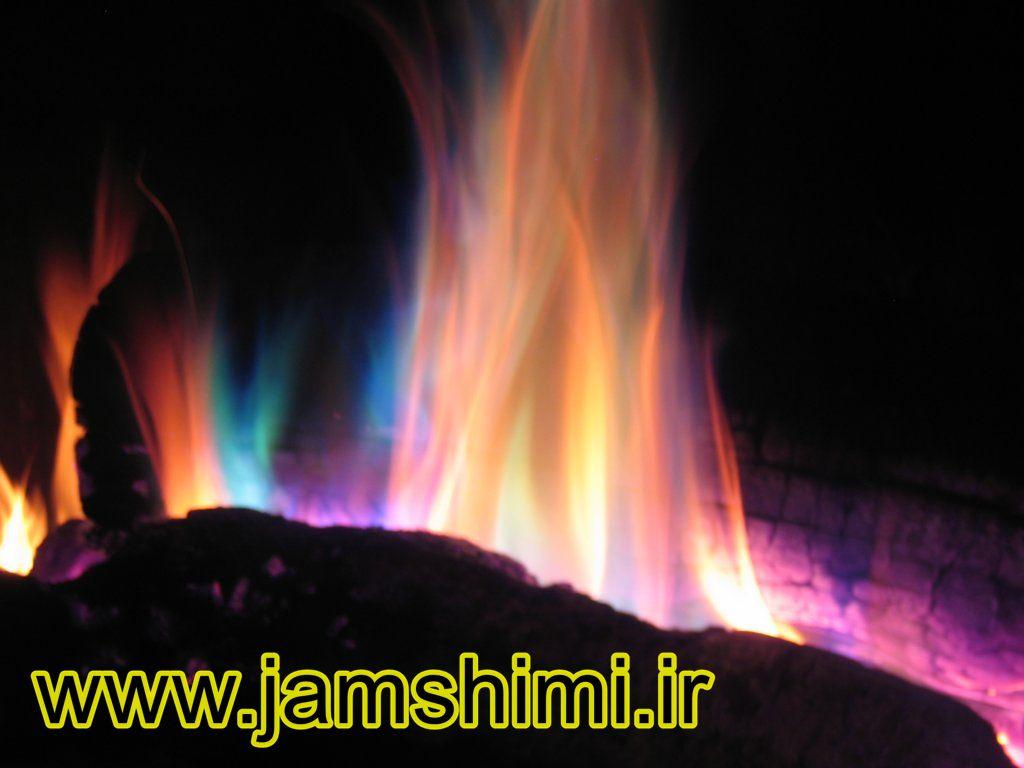 7 آزمایش شعله (Flame Test)
