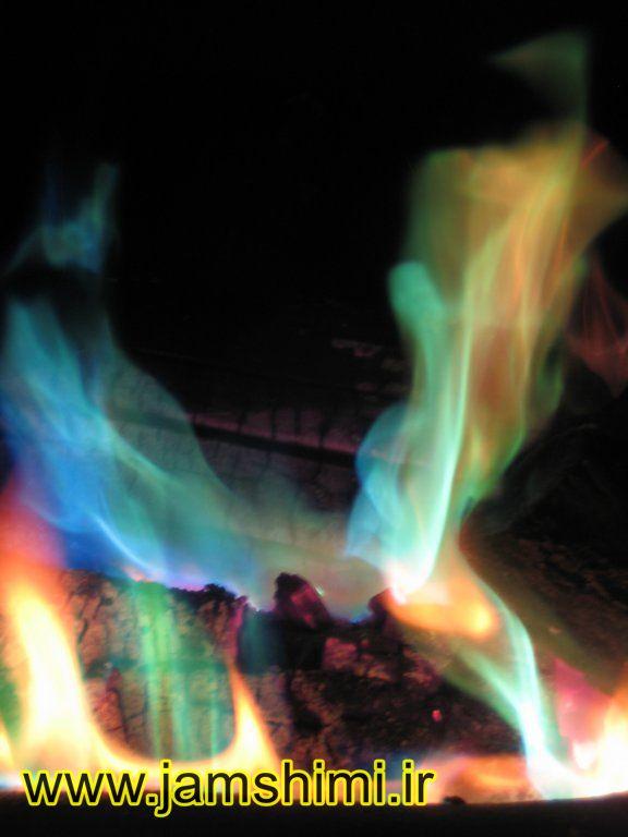 8 آزمایش شعله (Flame Test)