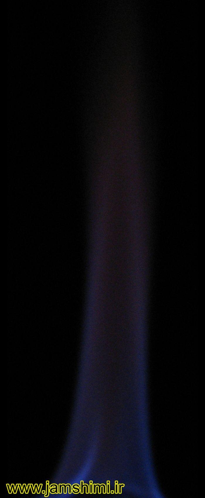 Ethanol آزمایش شعله (Flame Test)