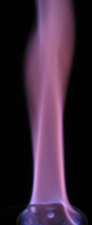 آزمایش شعله