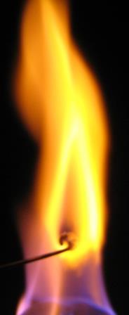 Na+1%20%28NaCl%29 آزمایش شعله (Flame Test)