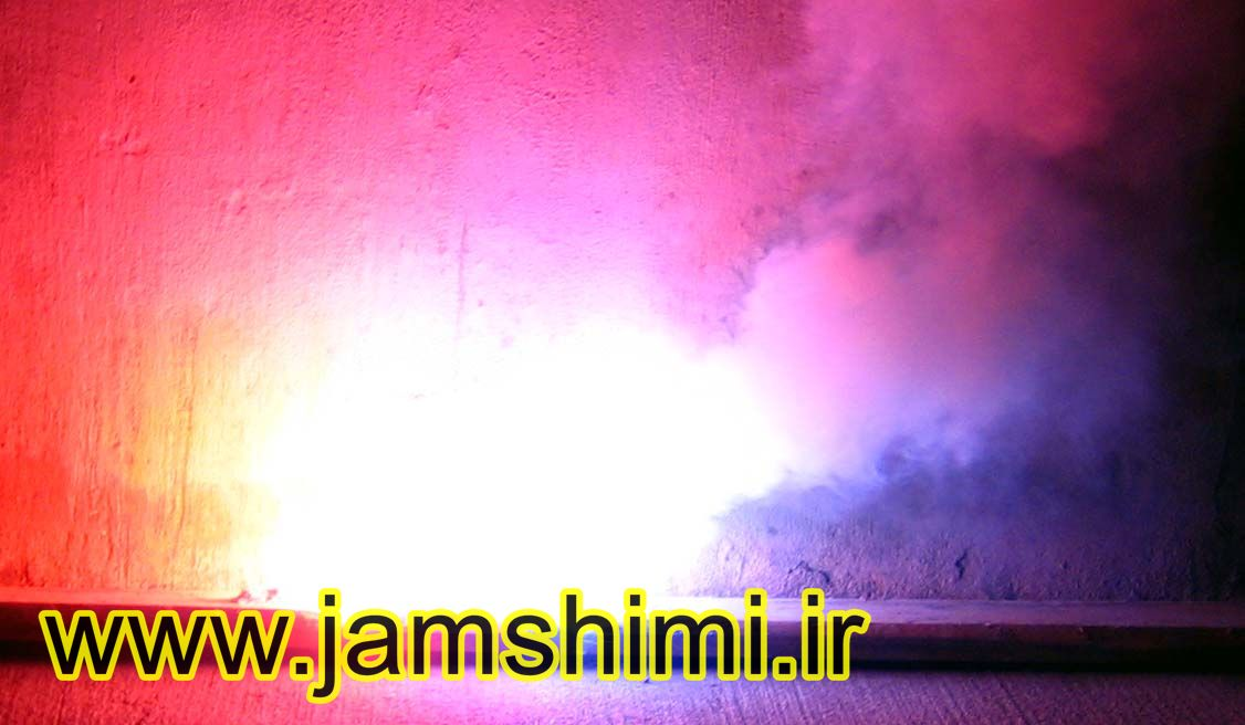 Rainbow Spectrum آزمایش شعله (Flame Test)