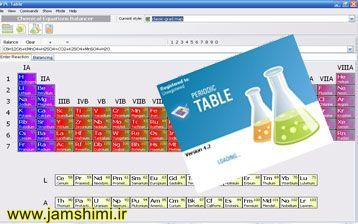 دانلود نرم افزار جدول تناوبی PLTable