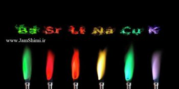 رنگ شعله عناصر یا آزمون شعله + جدول کامل رنگ شعله فلزات