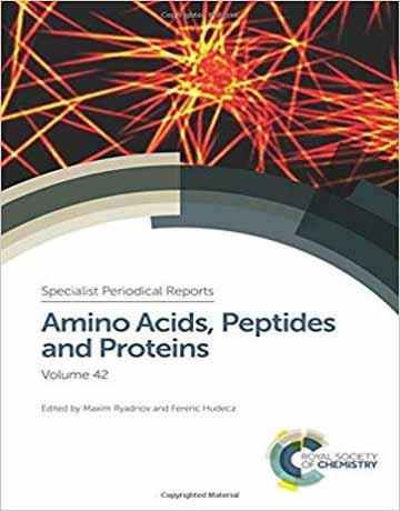دانلود کتاب آمینو اسیدها، پپتیدها و پروتئین ها جلد 42 Maxim Ryadnov