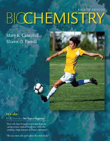 دانلود کتاب بیوشیمی کمپبل ویرایش 8 هشتم Mary K. Campbell