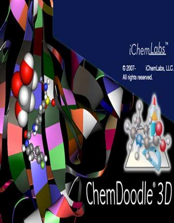 دانلود ChemDoodle 3D v2.0.1 Win/Linux/Mac نرم افزار نمایش سه بعدی ساختارهای شیمیایی