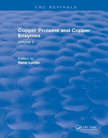 دانلود کتاب پروتئین های مس و آنزیم های مس: جلد دوم Rene Lontie
