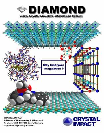 دانلود Crystal Impact Diamond 4.6.5 نرم افزار شبیه سازی ساختار کریستالی و مولکولی