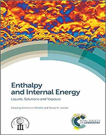دانلود کتاب آنتالپی و انرژی درونی: مایعات، محلول ها و بخار Emmerich Wilhelm