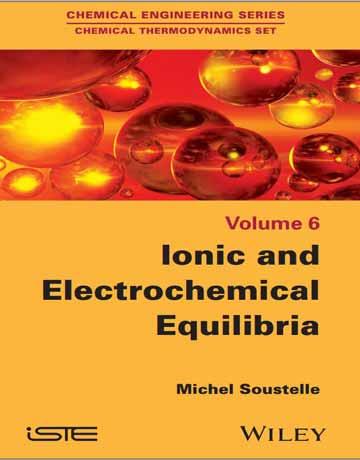 دانلود کتاب تعادل یونی و الکتروشیمیایی Michel Soustelle