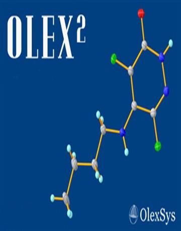 دانلود Olex² 1.2 Win/Linux نرم افزار نمایش و ویرایش ساختار کریستال ها
