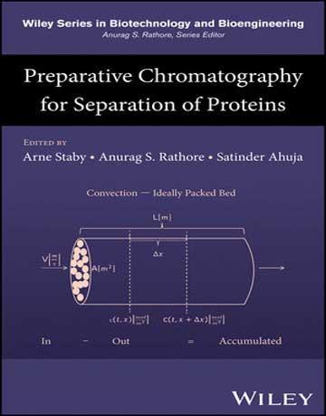 دانلود کتاب کروماتوگرافی تهیه ای برای جداسازی پروتئین ها Arne Staby