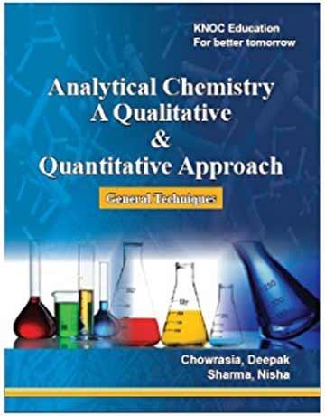 دانلود کتاب شیمی تجزیه رویکرد کمی و کیفی Deepak Chowrasia