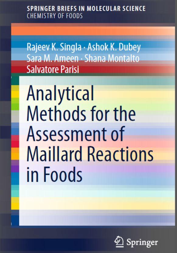 دانلود کتاب روش های تجزیه ای برای ارزیابی واکنش های میلارد در غذاها Singla