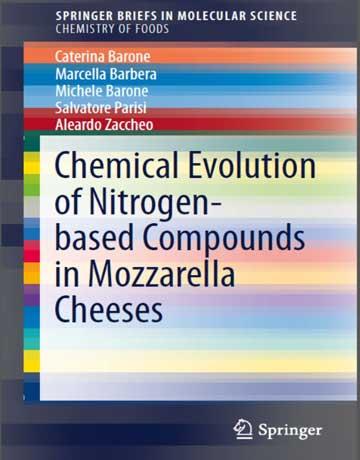 دانلود کتاب تکامل شیمیایی ترکیبات بر پایه نیتروژن در پنیر موزارلا Caterina Barone