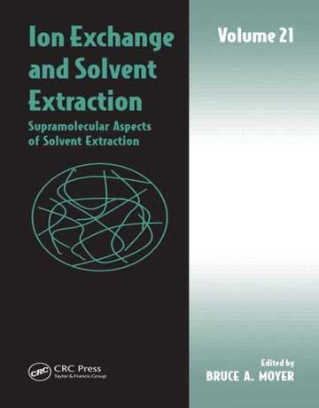 دانلود کتاب تبادل یونی و استخراج حلالی: جلد 21 Bruce A Moyer
