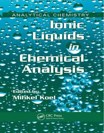 دانلود کتاب مایعات یونی در آنالیز شیمیایی Mihkel Koel