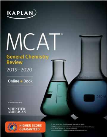 دانلود MCAT General Chemistry Review 2019-2020 Kaplan کتاب شیمی عمومی