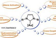 دانلود مقاله بررسی مکانیسم واکنش حذفی کاهشی کاربن-هالید در ترکیبات مس، نقره و طلا