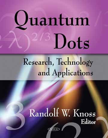 دانلود کتاب کوانتوم دات ها: پژوهش، تکنولوژی و کاربرد ها Randolf W. Knoss