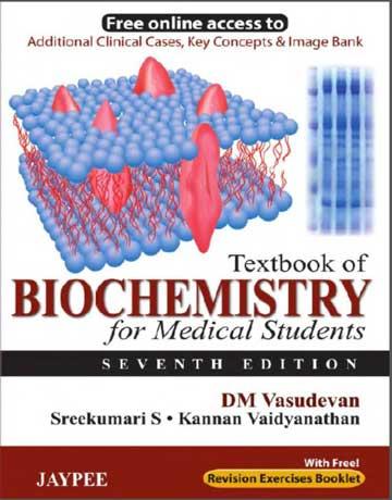 دانلود کتاب بیوشیمی برای دانشجویان پزشکی ویرایش 7 هفتم Vasudevan