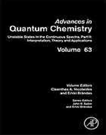 دانلود کتاب پیشرفت در شیمی کوانتومی جلد 63 Nicolaides