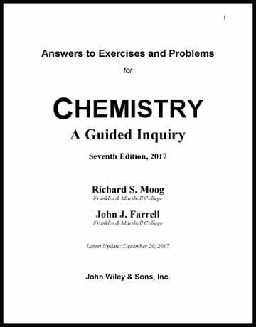 دانلود حل المسائل و تمرین شیمی عمومی موگ ویرایش 7 هفتم