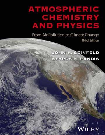 دانلود کتاب شیمی و فیزیک اتمسفر ویرایش سوم John Seinfeld