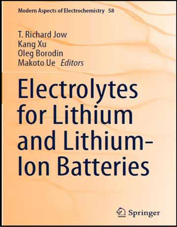 دانلود کتاب الکترولیت برای باتری لیتیوم و لیتیوم-یون Richard Jow