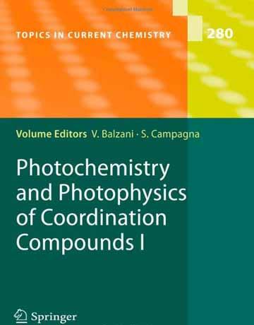 دانلود کتاب فتوشیمی و فوتوفیزیک برای ترکیبات کئوردیناسیون Balzani I