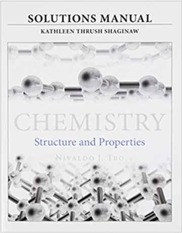 دانلود حل المسائل و تمرین شیمی عمومی ترو: ساختار و خواص ویرایش اول
