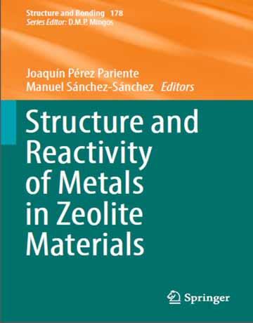 دانلود کتاب ساختار و واکنش پذیری فلزات در مواد زئولیت Pariente