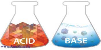 دانلود جزوه و درسنامه کنکوری اسید و باز + حل تمرین و مثال