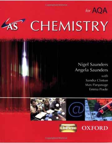 دانلود AS Chemistry for AQA Student Book کتاب شیمی عمومی