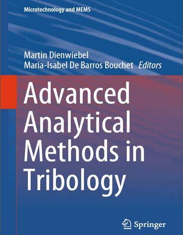 دانلود کتاب روش های تجزیه ای پیشرفته در تریبولوژی