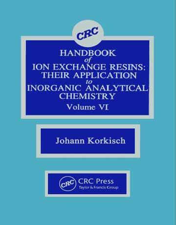 دانلود هندبوک رزین های تبادل یونی جلد ششم Johann Korkisch