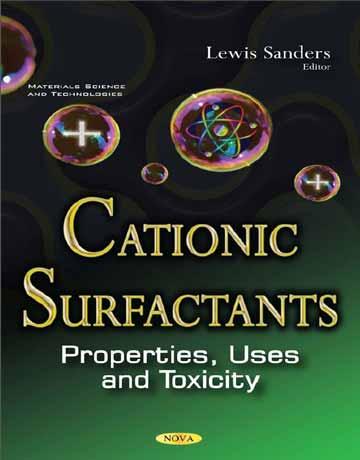 دانلود کتاب سورفکتانت های کاتیونی: خواص، کاربرد و مسمومیت