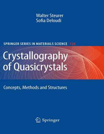 دانلود کتاب کریستالوگرافی شبه کریستال ها: مفاهیم، روش ها و ساختار ها