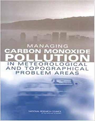 کتاب مدیریت آلودگی کربن مونوکسید در مسائل هواشناسی و توپوگرافی