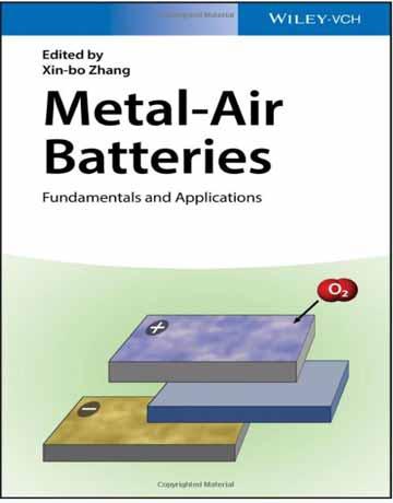دانلود کتاب باتری ها فلز هوا: اصول و کاربرد ها